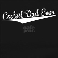 Coolest Dad Ever, Retro, Long Sleeve Maternity T-S