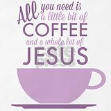 Coffee jesus Aprons