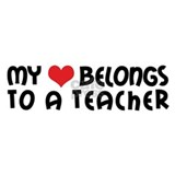 Heart Belongs to a Teacher Coffee Mug