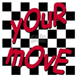 Your Move - Chess Board Tee