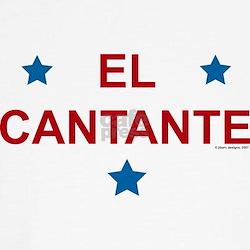 """El Cantante """"retro"""" T"""