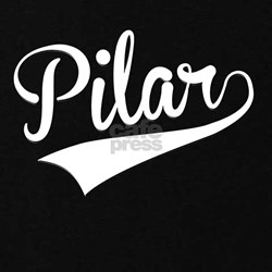 Pilar, Retro, Maternity T-Shirt