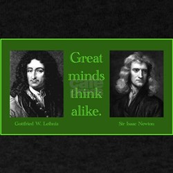 Leibniz & Newton T-Shirt