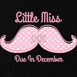 Pink Mustache Dec T-Shirt