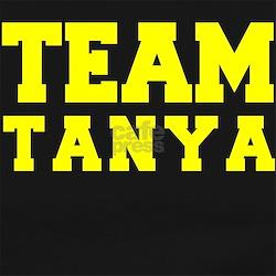 TEAM TANYA Long Sleeve Maternity T-Shirt