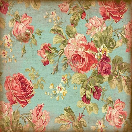 Vintage Floral Shower Curtains