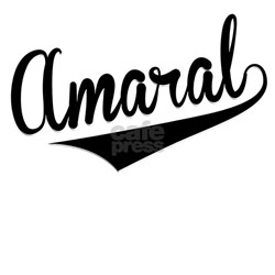 Amaral, Retro, Long Sleeve Maternity T-Shirt