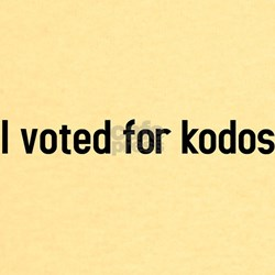 I voted for kodos T