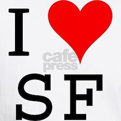 I Love SF Premium Shirt