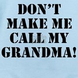 Call grandma Baby Bodysuits