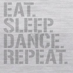 Eat Sleep Dance Repeat Maternity Tank Top