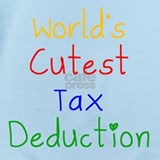 Cute tax deduction Baby Bodysuits