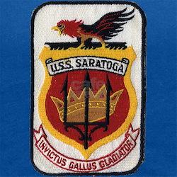 USS SARATOGA Maternity Tank Top