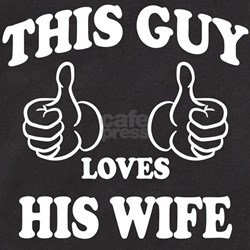 This Guy Loves His Wife T-Shirt