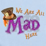 Mad hatter Baby Bodysuits