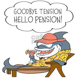 Goodbye Tension Hello Pension Retirement Invitatio Jpg