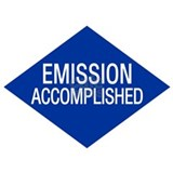 Emission Accomplished Mug