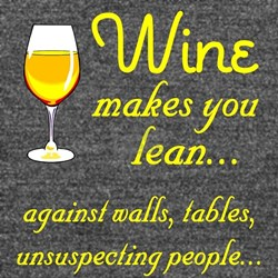 Wine lean Long Sleeve Maternity T-Shirt