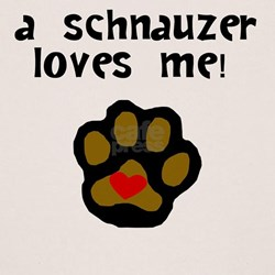 A Schnauzer Loves Me T-Shirt
