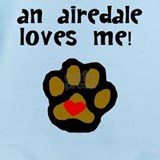 Airedale Baby Bodysuits