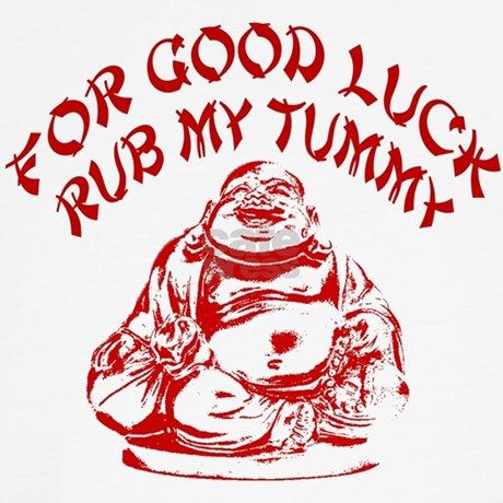 Good Luck Buddha Shirt By 77design