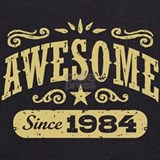 Awesome since 1984 Sweatshirts & Hoodies