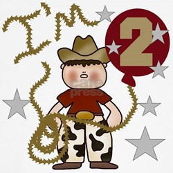 Cowboy 2nd Birthday T