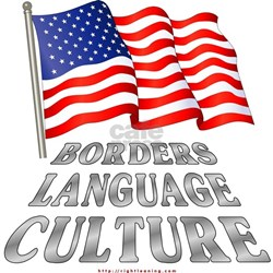 Borders Language Culture Shirt