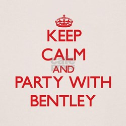 Keep calm and Party with Bentley T-Shirt