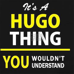 Funny Hugo Long Sleeve Maternity T-Shirt