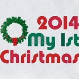 First christmas 2014 Bib