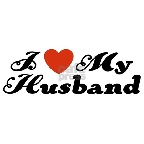 attitude gifts attitude stickers i love my husband oval sticker