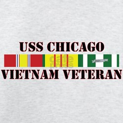Vietnam Veteran USS Chicago T-Shirt