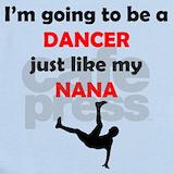 Dance nanas Baby Bodysuits
