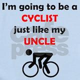 Cyclist baby Baby Bodysuits