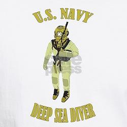 Funny Deep diving Shirt