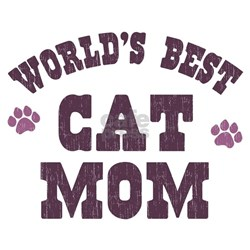 World's Best Cat Mom T-Shirt
