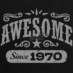 Awesome Since 1970 Tee