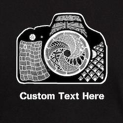 Customized Camera Original Art T-Shirt