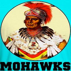 Blue Mohawks Shirt