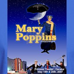 Cute Mary poppins T-Shirt