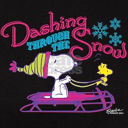 Snoopy and Woodstock Dashing Tee