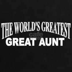 """The World's Greatest Great Aunt"" Tee"