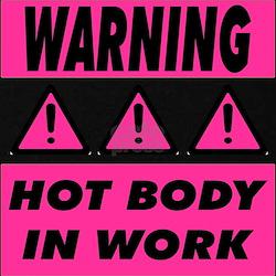 Hot Body Pink Maternity T-Shirt