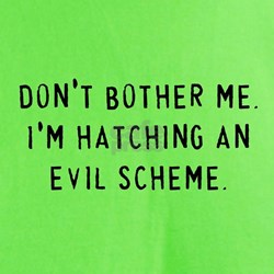 Hatching an Evil Scheme T-Shirt