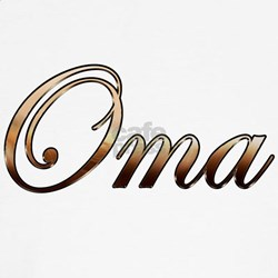 Gold Oma Shirt