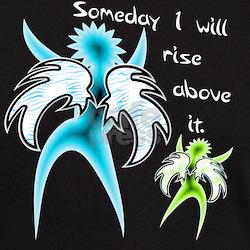 Rise Above It Black T-Shirt