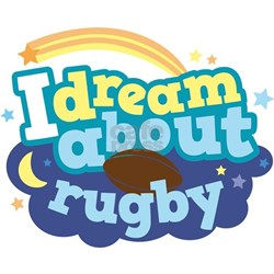 I Dream About Rugby Tee