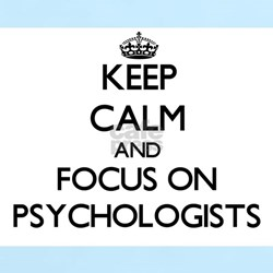 Keep Calm and focus on Psychologists T-Shirt