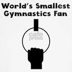 Worlds Smallest Gymnastics Fan T-Shirt